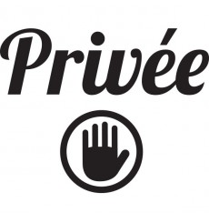 Sticker Privée