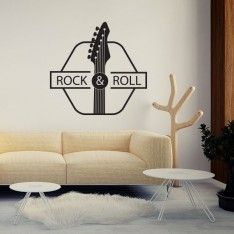 Sticker Rock and roll