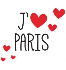 Sticker J'aime Paris