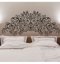 stickers t te de lit stickmywall. Black Bedroom Furniture Sets. Home Design Ideas