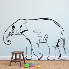 Sticker Elephant