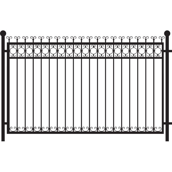 Stickers rambarde fer forg stickmywall for Rambarde fer forge